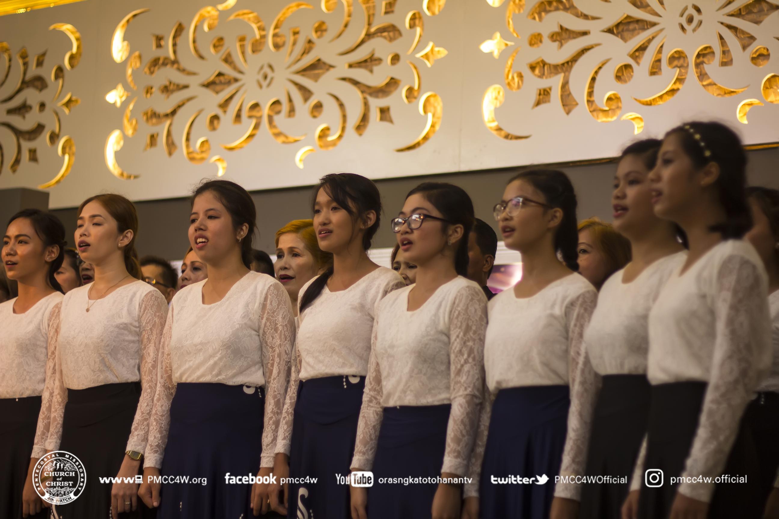 Choir, Lipa 34th Church Anniversary