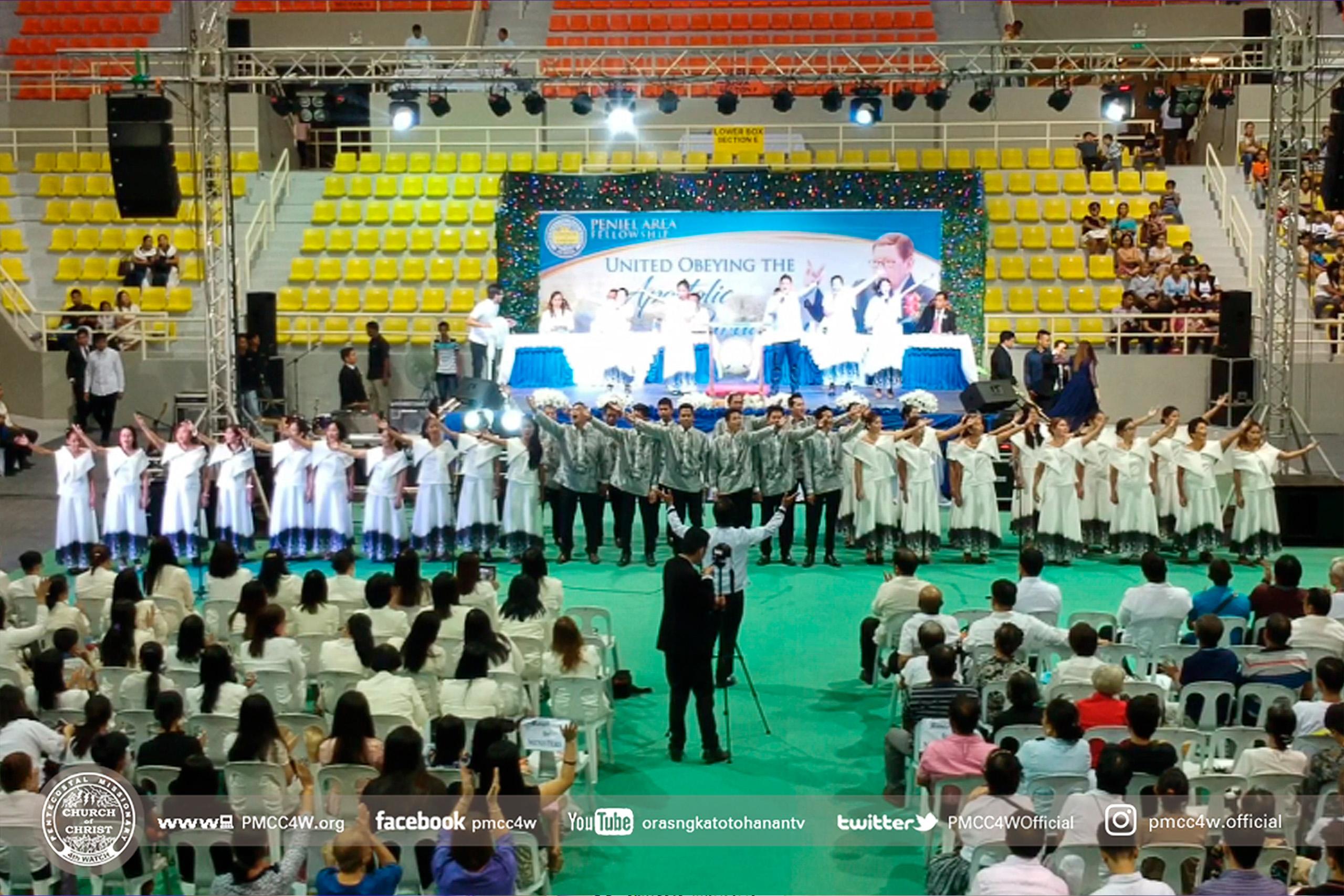 PMCC 4th Watch, Apostle, Arsenio T. Ferriol, AATF, Sport Complex, Church of Christ , 4th Watch, Fellowship, Christian
