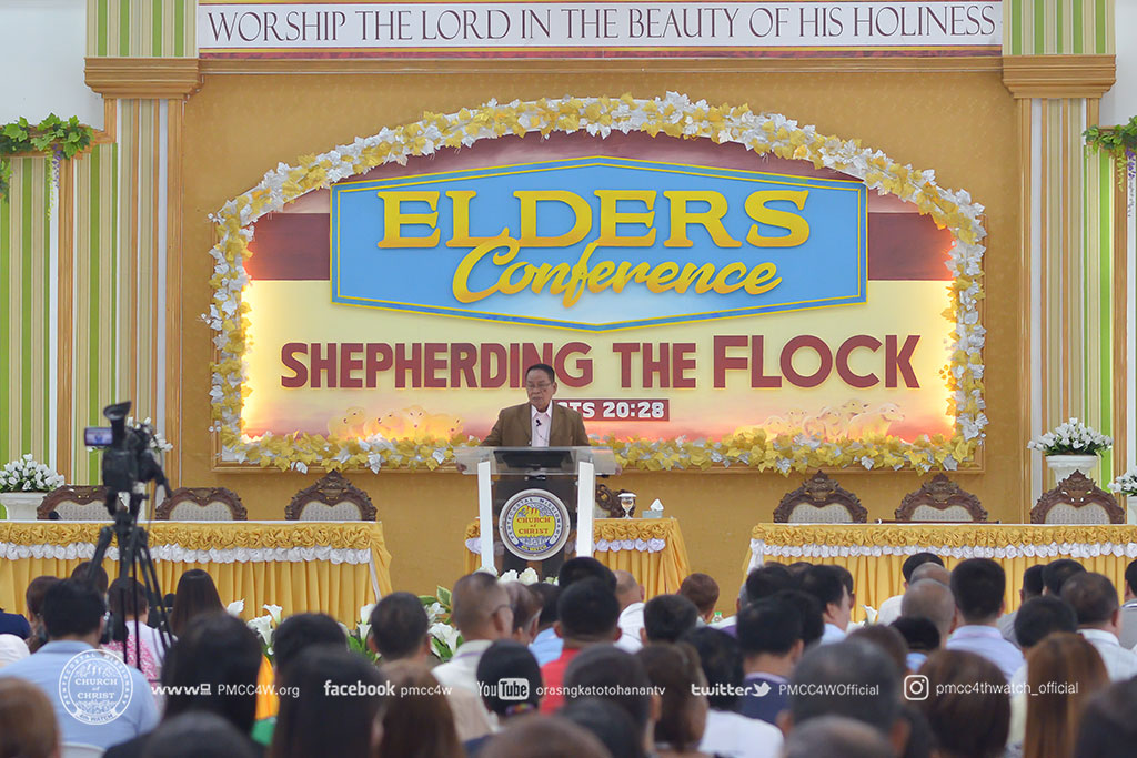 Day 1 Elders Conference