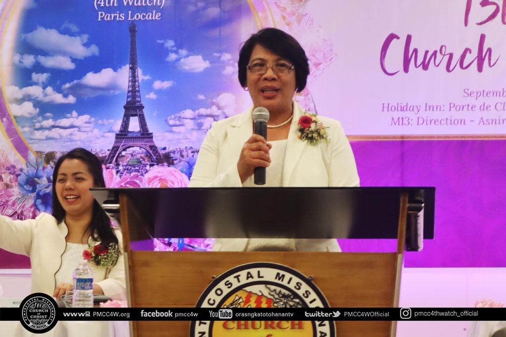 Paris Church Anniversary