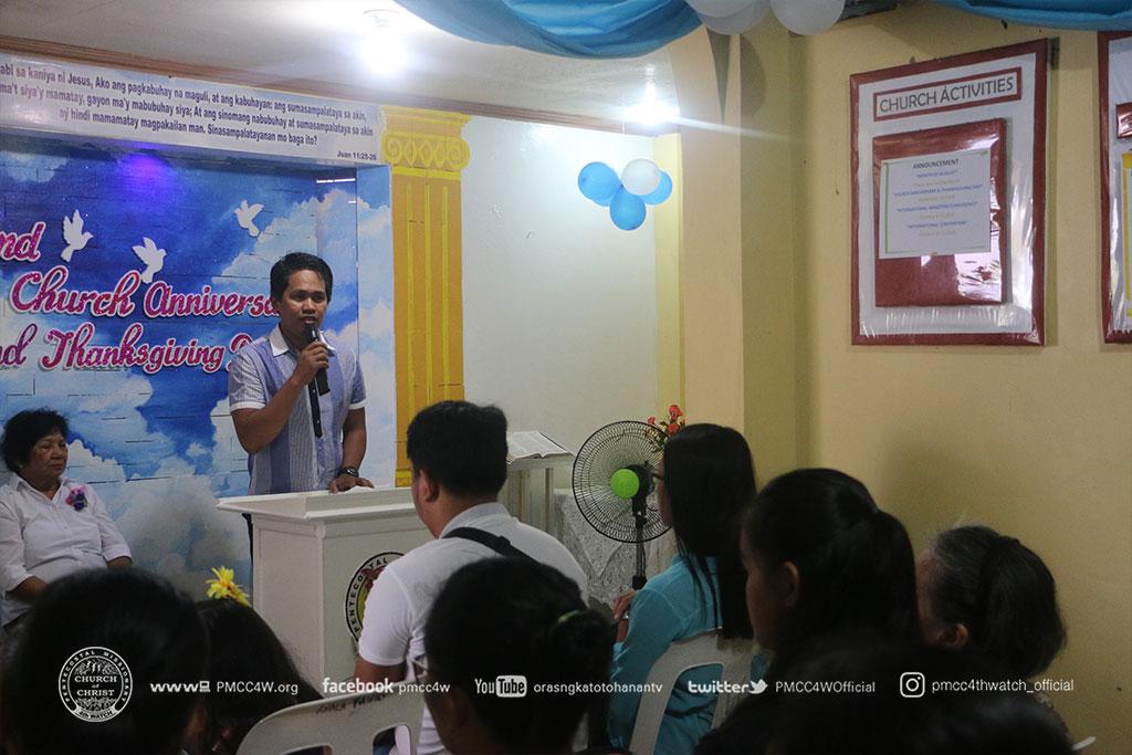 Pagbilao Church Anniversary