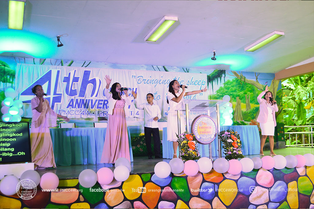 Project 4 Church Anniversary