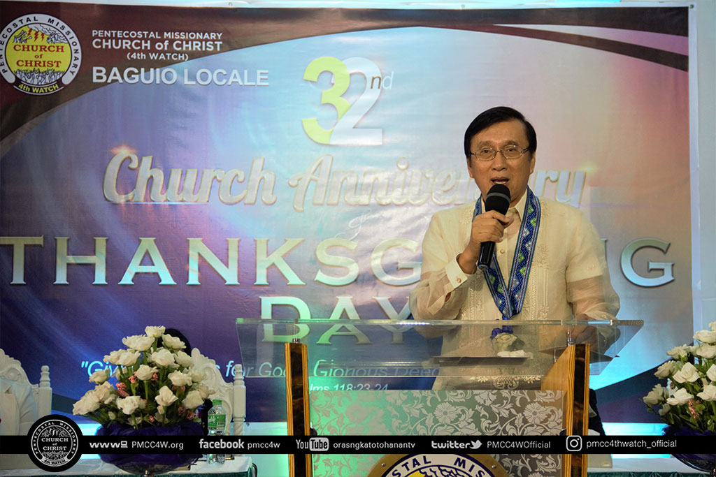 Baguio Church Anniversary