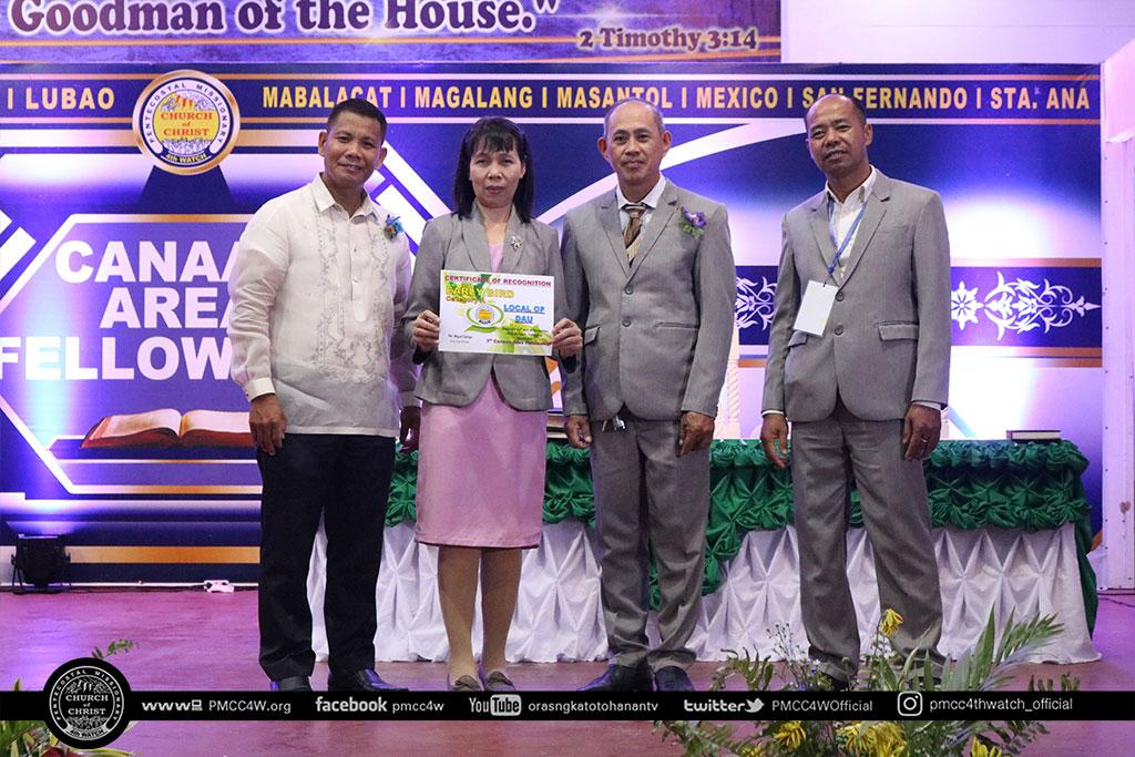 Canaan Area Fellowship 2018