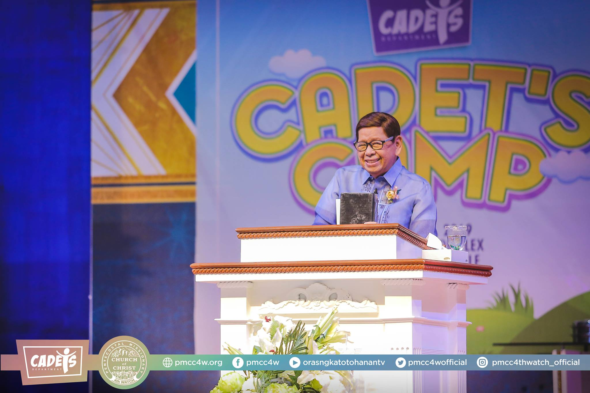 Pentecostal Missionary Church of Christ 4W; PMCC 4W; Cadets Camp; Church; Faith; Children; Apostle Arsenio T. Ferriol;